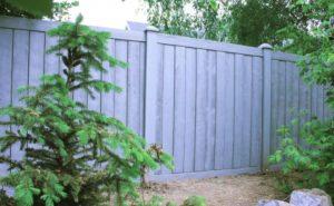 Simtek privacy fence